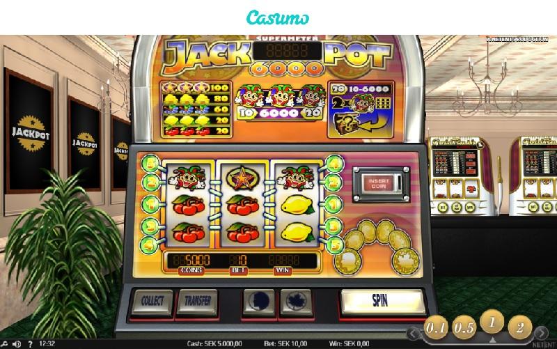 Jackpot 6000 hos Casumo